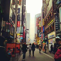 명동길 (Myeongdong-gil) in 서울특별시