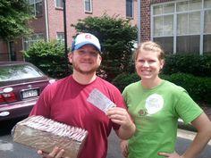 Atlanta: Swarm Car delivers Braves tickets!