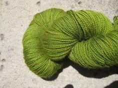 Sock Yarn  BFL Wool Nylon Blend   Mantis by GraceandFiber on Etsy, $19.75