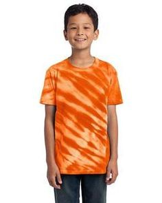 Youth Essential Tiger Stripe Tie-Dye T-Shirt