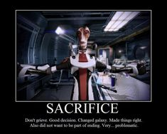 Mass Effect - Mordin Solus. The greatest scientist the galaxy has ever seen