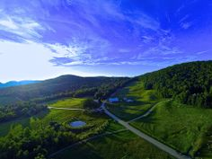 Bragg Hill, Vermont from the air. www.discoververmontvacations.com