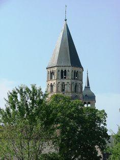 Abbaye de Cluny - le clocher
