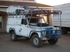 Land Rover 109 Serie II A Hardtop PREPARED TO TAKE HIS PART IN LIFE...lol. Lobezno. Cahorra