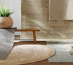 natural fiber rugs at Pottery Barn - follow this link for options. 5x8 is a standard size at PB, and we get (I think) 15% off.  And the customize sizes.