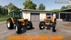 Renault 851-4s Turbo Tractor v1.0 for FS19