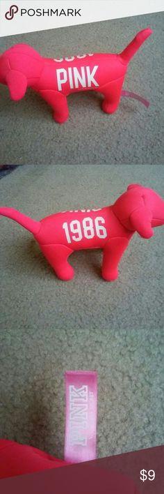 Victoria secret PINK dog Great condition PINK Victoria's Secret Accessories