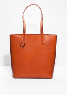 & Other Stories | Buckle Detail Leather Tote