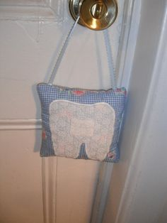 Tooth Fairy Child's Pillow by MysticalRaindrops on Etsy, $9.95