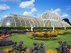 The Kew Gardens in London, England    John Lamb/Stone/Getty Images