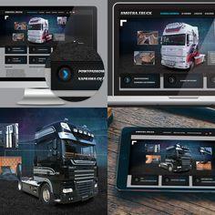 Szybki projekt graficzny - prosta strona internetowa dla firmy SMOTRA.