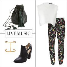 Date night outfit. (photo by: Shopbop, Farfetch.com, Zara). #fashion