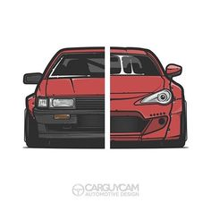Toyota AE86 and Toyota GT86