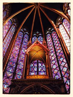 Wonder #paris #saintechapelle