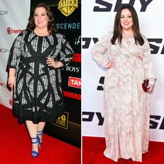 Today we applaud Melissa McCarthy's amazing weight loss journey!  Her transformation has only begun, and she already looks healthier and happier.  Melissa credits her weight loss to a low-carb, high-protein diet, which has always been very popular among stars that want to lose the extra pounds very quickly.  Having lost 50 lbs. already, Melissa doesn't want to be stick thin, she just wants to be healthier. #transformationtuesday #weightloss #melissamccarthy #dailyvitamin