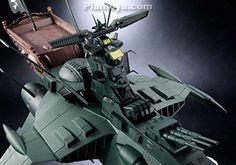 Soul of Chogokin GX-67 - Space Pirate Captain Harlock : Space Pirate Battleship Arcadia