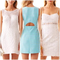 Lilly Pulitzer Dresses with cut-outs- perfect way to get away with showing a little skin