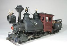 It would be interesting to turn this into a Forney type locomotive. I guess the Whyte arrangement would be a 0-6-4.