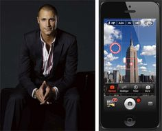 Nigel Barker's photography tip for us: Use Camera + and other apps to edit photos before you post on Instagram or Facebook. (So that's how he does it!)
