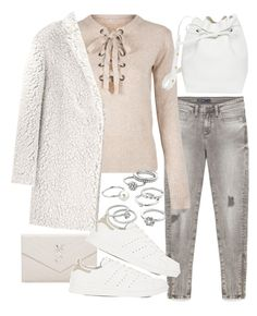 """""""Untitled #20694"""" by florencia95 ❤ liked on Polyvore featuring Yves Saint Laurent, adidas, WithChic, Kenzo, Mansur Gavriel and Candie's"""