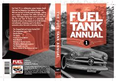 DVD cover design for 'Fuel Tank' annual #1. Kyle De Kuijer.