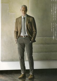 Minus the leg pockets, a nice look.