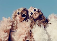 Queeny + Camilla Star in Wildfox's Dreamy Summer '14  Shoot by Mark Hunter