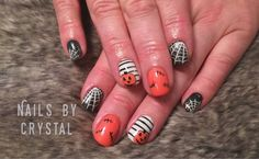 Nails done by me at Endless Summer!