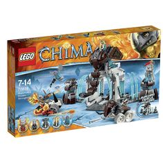 LEGO Legends of Chima 70226 - Mammoth's Frozen Stronghold #Lego #LegoChima #Chima #LegendsofChima #afol #toys #LegoNews