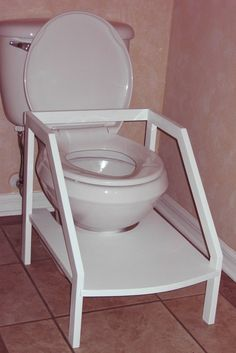 potty stool for toddler - Google Search & MY STEP UP STOOL: This sturdy wood step stool has tall side ... islam-shia.org