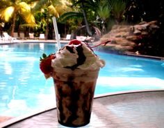 Chocolate Banana Split with Vodka!   Inn at Key West * Florida Keys * Vacations * Getaways