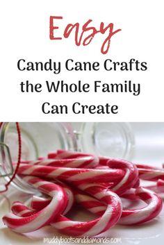 Easy candy cane craf