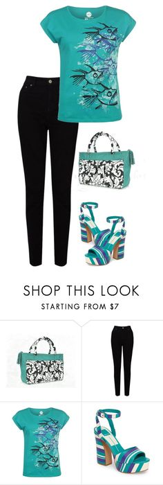 """""""Geen titel #428"""" by miriam-witte ❤ liked on Polyvore featuring EAST, Hot Tuna and Dolce Vita"""