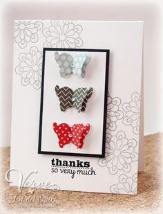 Card by Jen del Muro using Verve Stamps.  #vervestamps