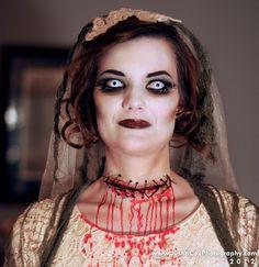 halloween makeup zombie | zombie bride | Halloween Makeup