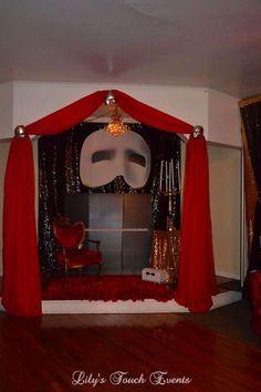 Phantom Of The Opera Birthday Party Ideas