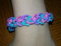 Rainbow Loom Patterns: Honeycomb Rainbow Loom Pattern
