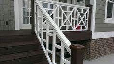 Handrails, deck