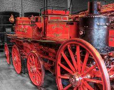 old fire engines | Don Alexander Lumsden (Echo7) › Portfolio › Antique Fire Engine