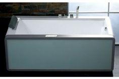 EAGO AM151 71inches Colorful Light Up Modern Acrylic Whirlpool Bathtub at bluebath.com