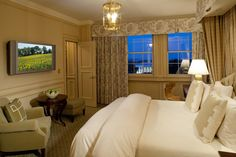 The Presidential Hotel Suite at the Hay-Adams Hotel
