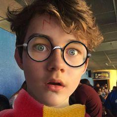Levi makes a cute Harry Potter  But actually, he could be Albus!