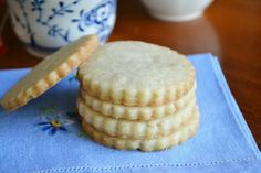 Vanilla Bean Shortbread Tea Cookies are a simple, buttery, and utterly delicious cookie perfect for any occasion.