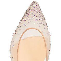 Shoes - Follies Strass Flat - Christian Louboutin