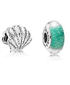 Pandora Disney Ariel s Shell and Murano Glass cfa8ce7477564