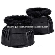 Horse Bell Boot with fur