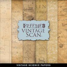 Freebies Vintage Science Papers