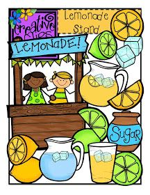 """The Creative Chalkboard: FREE Lemonade Stand Clipart! """"Did your child have fun doing National Lemonade Stand Day? 2 Clipart, Cute Clipart, Free Clipart For Teachers, School Clipart, Classroom Clipart, Free Teaching Resources, Teacher Resources, Police, Free Graphics"""