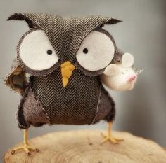 Looks like one bad ass owl!