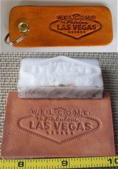We can make you a custom Leather Embossing Die with any text font graphic or logo that can be used with a press These are low-cost hard plastic dies We Leather Label, Leather Art, Custom Leather, Embossing Stamp, Leather Embossing, Mini 14, Leather Working Tools, Thing 1, 3d Printer